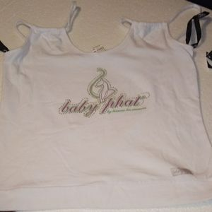 Baby Phat Currant Logo sleeveless Shirt